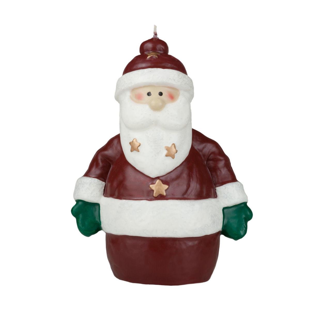 Friendly Santa Claus Both Hands Down Unique Christmas