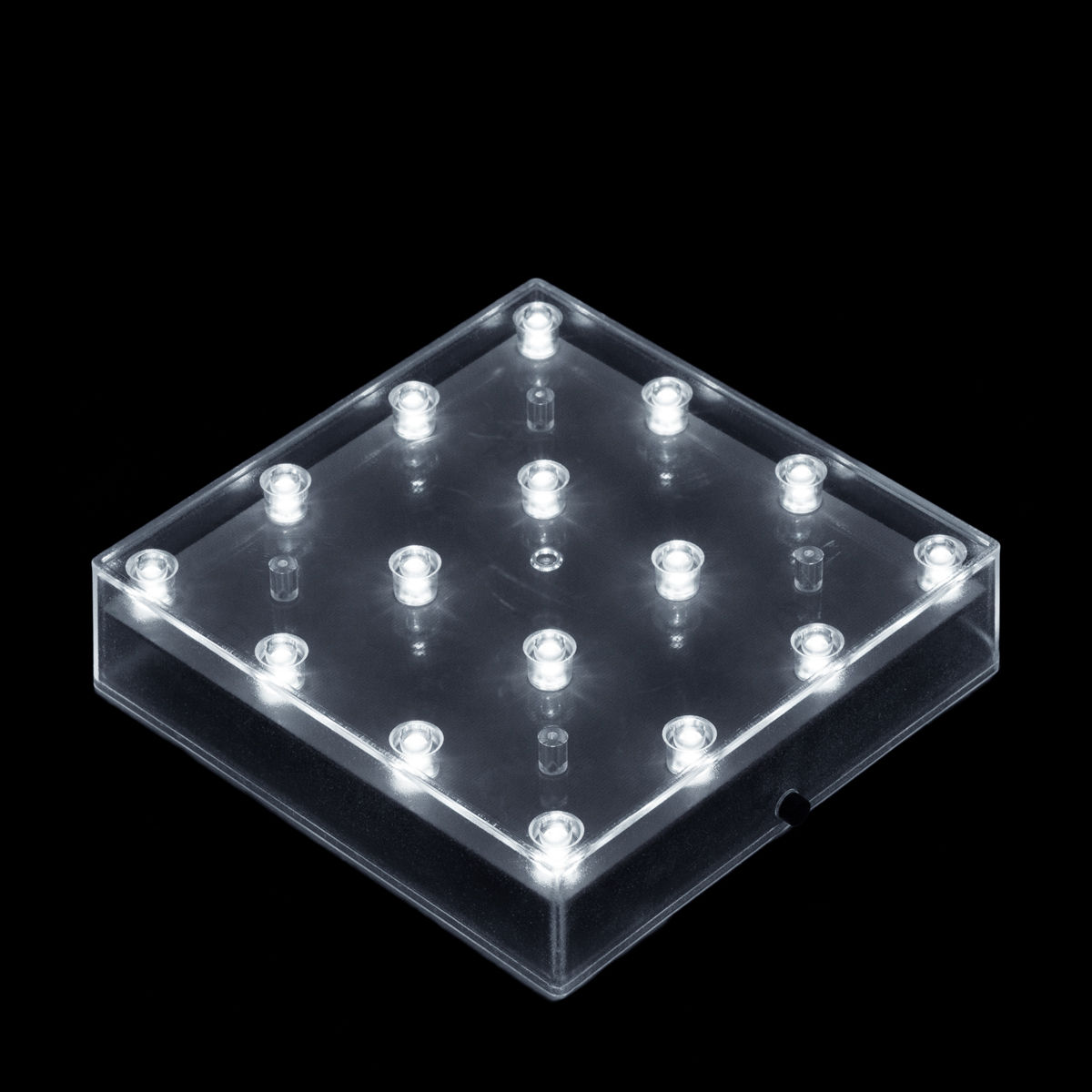 Inch square led lightbase battery operated light base