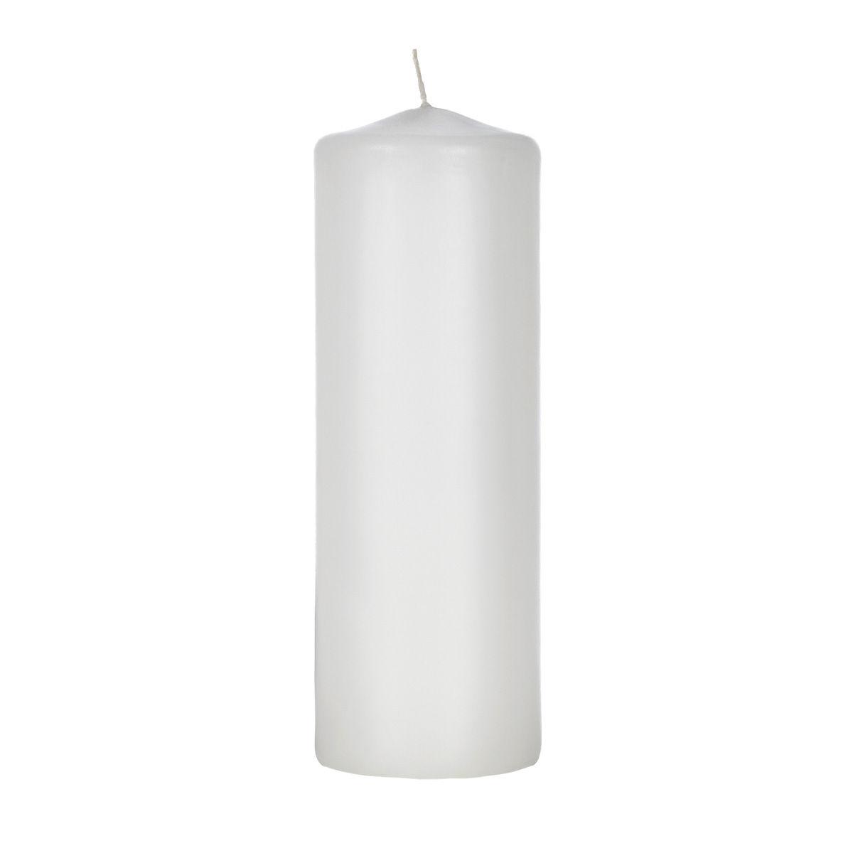 2x6 White Pillar Candle