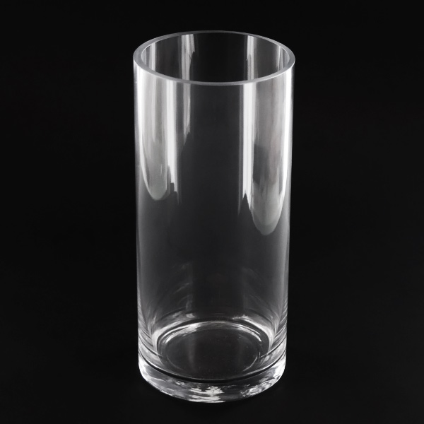 45x10 Inch Cylinder Glass Vase Glass Container