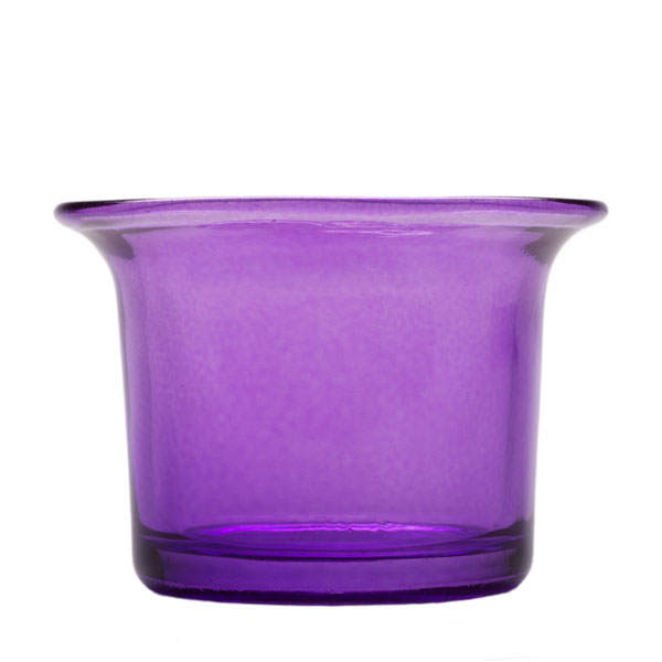 Flared Tealight Glass Cup