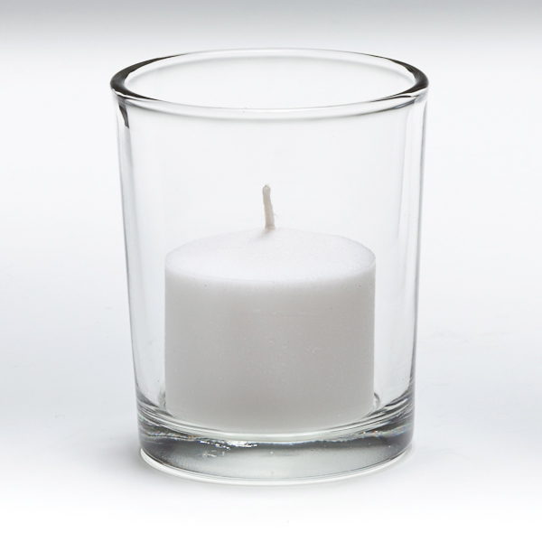 10 Hour Votive Candle In Glass