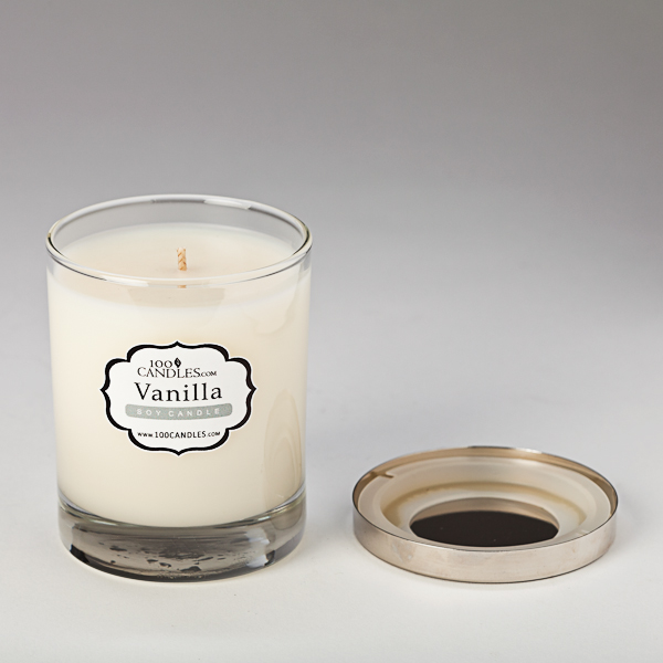 Vanilla Scented Soy Candle by Lumaness