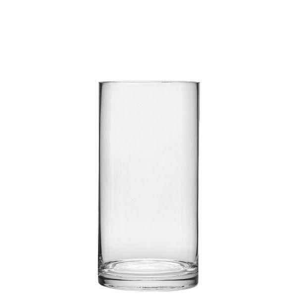 4x8 Glass Cylinder Vase